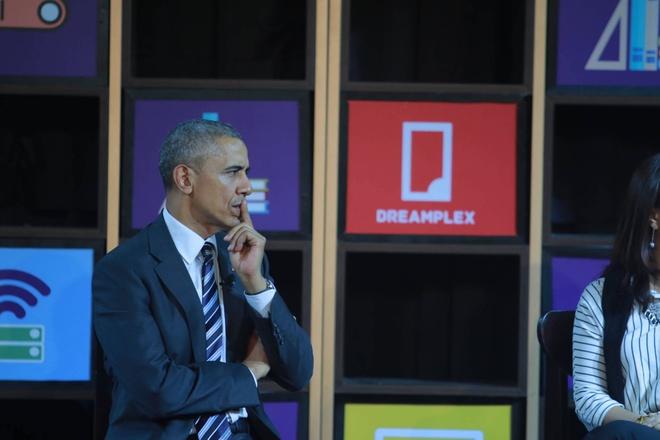 Tong thong Obama doi thoai voi gioi startup Viet hinh anh 11