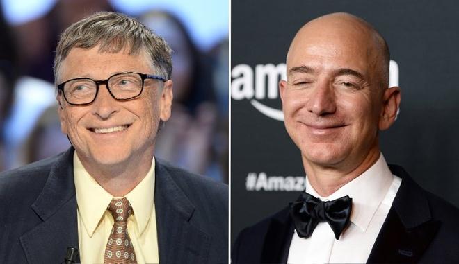 Ty phu Bill Gates lay lai ngoi giau nhat the gioi sau vai gio hinh anh