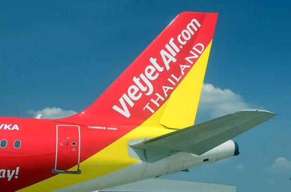 Vietjet Air Thai Lan bi ngung bay chang quoc te hinh anh