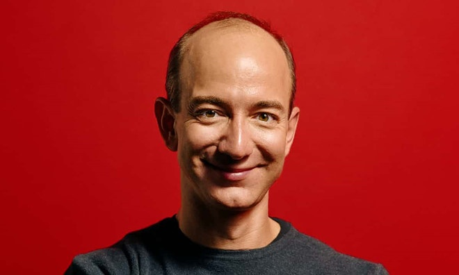 Jeff Bezos ban 1, 1 trieu USD co phieu Amazon anh 1
