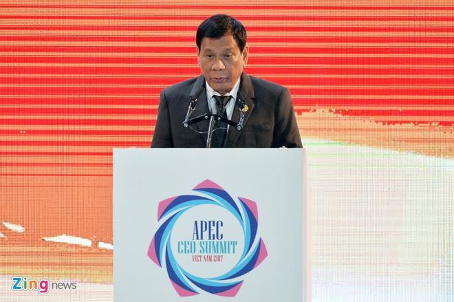 Tong thong Duterte: 'Chung toi khong can vien tro nhan dao' hinh anh 1