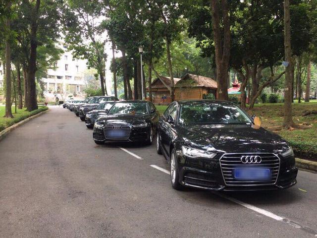 Ban lo xe Audi phuc vu APEC: Dang vuong thu tuc hinh anh 1