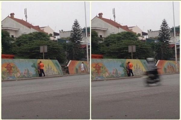 Om ap noi cong cong - gioi tre thieu cho yeu nen hoa lieu hinh anh 3 Bức ảnh một cặp đôi làm chuyện ấy ngay giữa đường phố Hà Nội khiến cư dân mạng ngỡ ngàng.