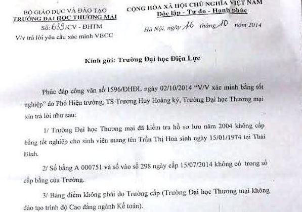 Dung bang gia de hoc lien thong dai hoc hinh anh