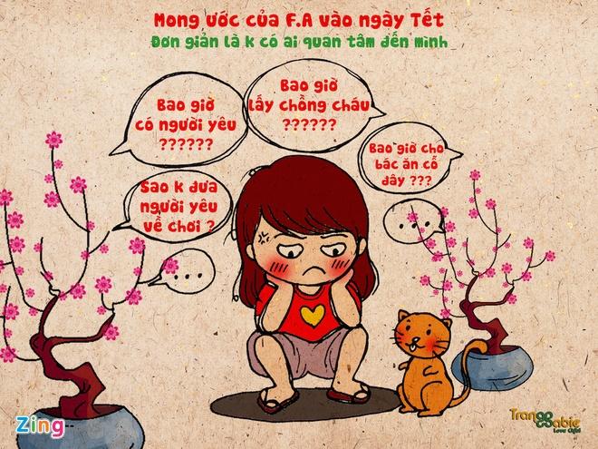 Tranh Vui Noi Kho Va Su Sung Suong Cua F.A Vao Ngay Tet Hinh Anh 1