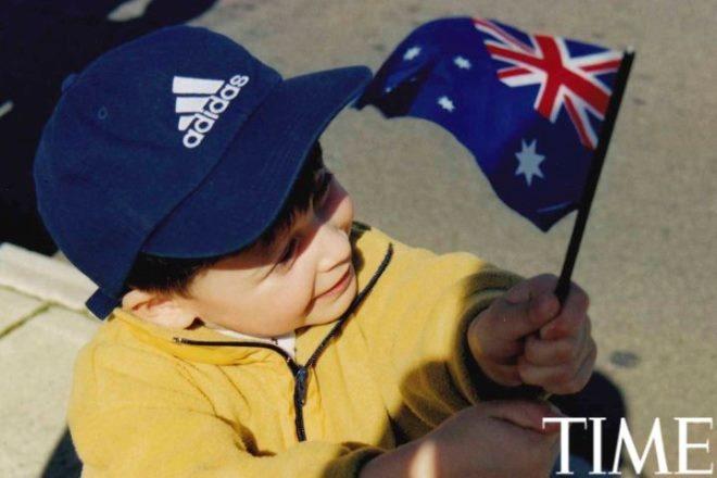 Tuoi tho it biet ve than dong so huu khoi tai san khong lo hinh anh 2 Nick tham dự một sự kiện thể thao tại Melbourne năm 4 tuổi.
