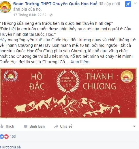 Chung ket Duong len dinh Olympia 2016 anh 15