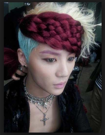 G-Dragon dien dau sushi va 9 kieu toc kho hieu nhat cua sao Han Quoc hinh anh 3