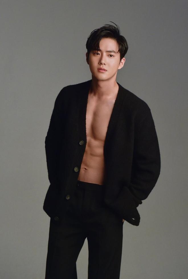 10 sao nam Han Quoc chuong mot khong cai cuc ao khoe body 6 mui hinh anh 1