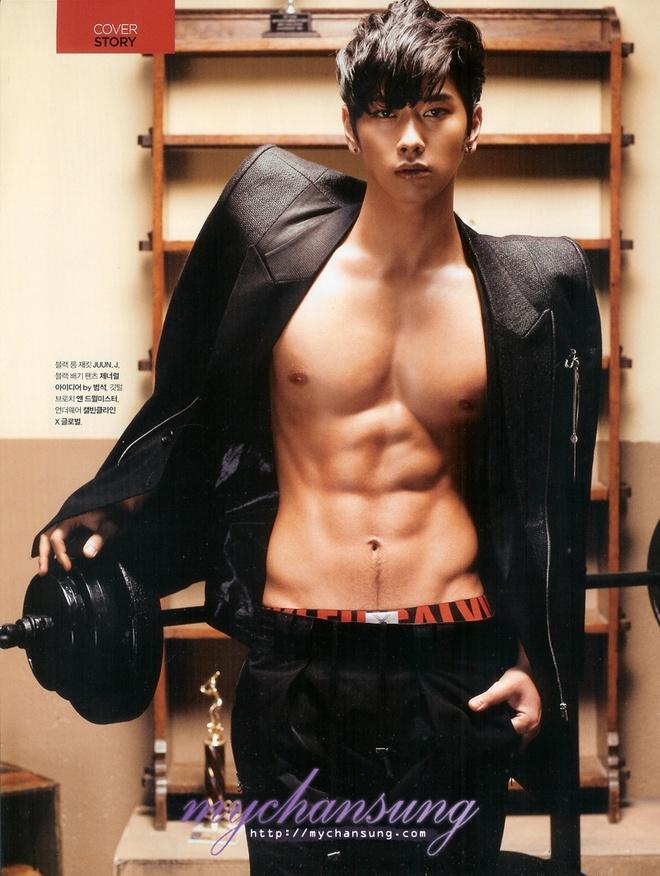 10 sao nam Han Quoc chuong mot khong cai cuc ao khoe body 6 mui hinh anh 6