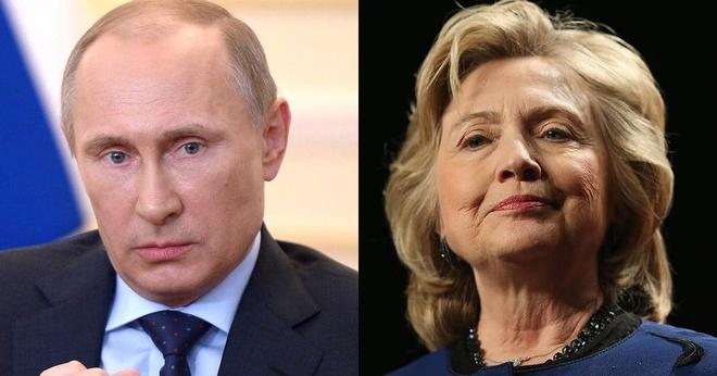 Putin can thiep bau cu My: Cu tra dua voi ba Clinton hinh anh 1