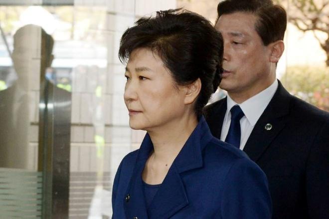 Ba Park Geun Hye toi toa nghe quyet dinh bat giam hinh anh 1