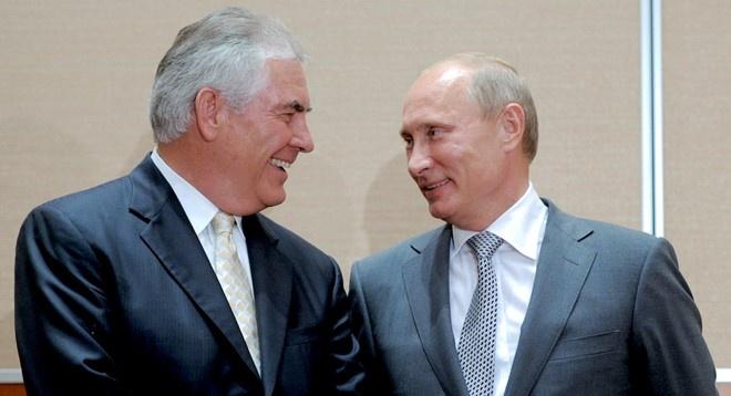 Putin gap Tillerson anh 1