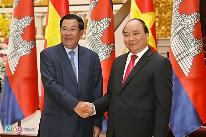 Thu tuong Nguyen Xuan Phuc tham Campuchia va Lao hinh anh 1