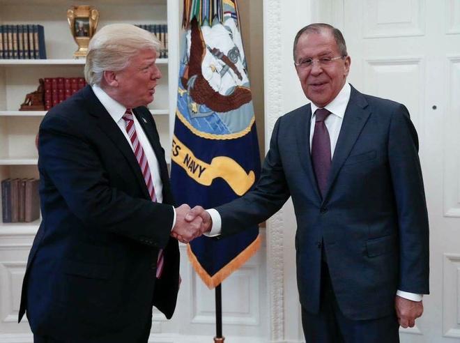 Trump tiet lo thong tin mat voi Nga anh 1