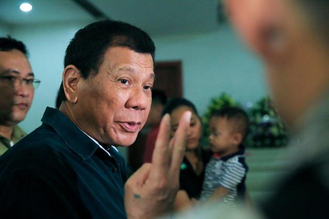 Tong thong Duterte: IS da den Philippines hinh anh
