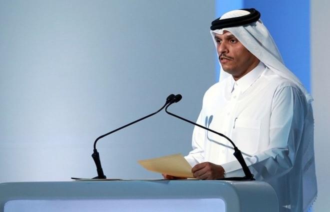 Qatar the khong dau hang cac nuoc Vung Vinh hinh anh 1