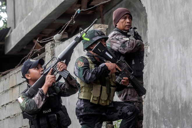 Khung bo Marawi nham mot loat diem tan cong o Dong A hinh anh