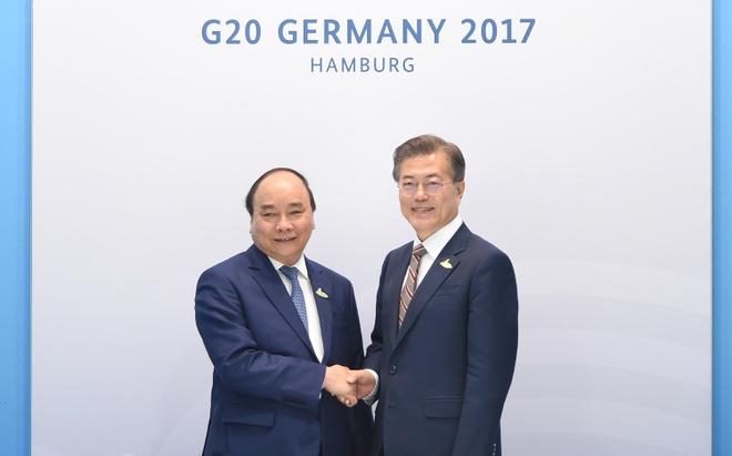 Thu tuong tiep xuc song phuong ben le Hoi nghi Thuong dinh G20 hinh anh 1