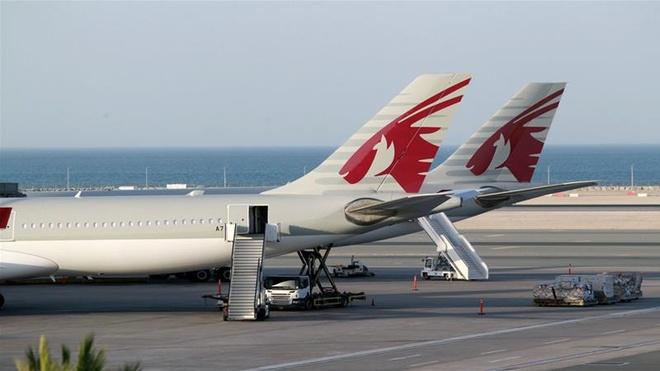Qatar va cac nuoc Arab tranh cai ve hanh lang hang khong hinh anh