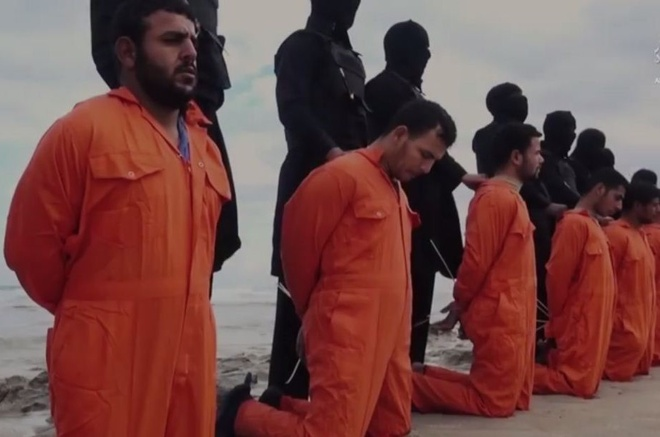 IS chat dau 11 nguoi o Libya hinh anh