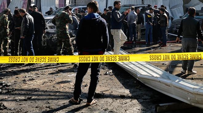 Iraq: Tan cong kep khien it nhat 50 nguoi thiet mang hinh anh