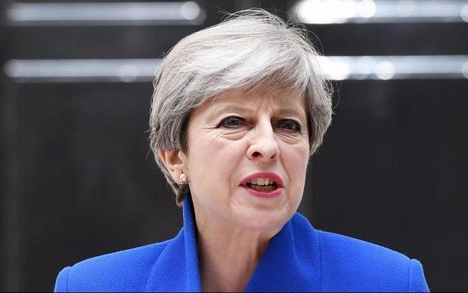 Thu tuong Anh nhac ong Trump khong suy doan ve khung bo London hinh anh