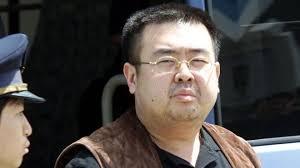 Nguoi nghi la Kim Jong Nam bi dinh chat doc VX tren mat va quan ao hinh anh