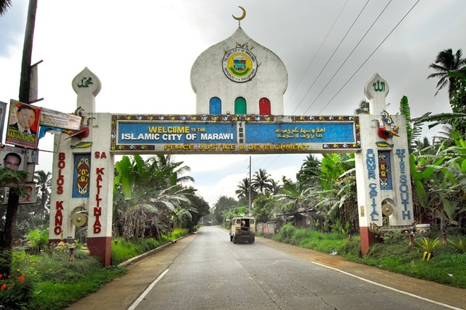 Philippines giai phong Marawi anh 1