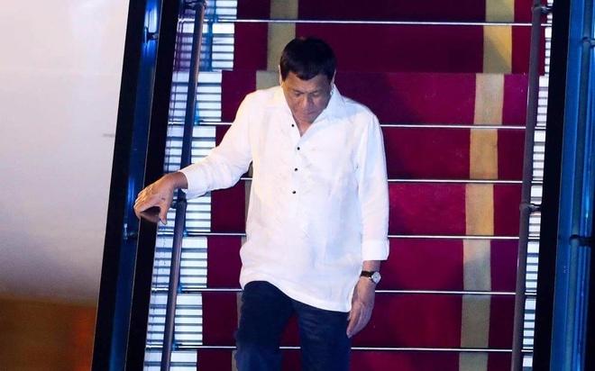 Tong thong Duterte den Da Nang hinh anh