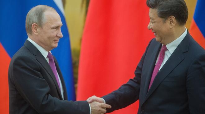Ong Putin va ong Tap thao luan ve Trieu Tien anh 1