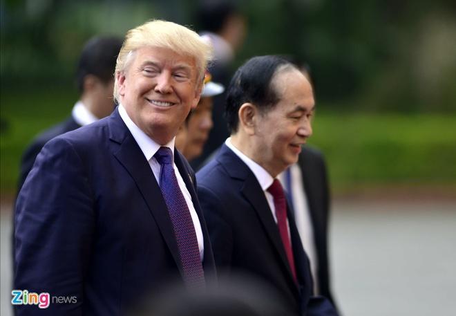 Tong thong Trump gui loi cam on nguoi Viet Nam hinh anh