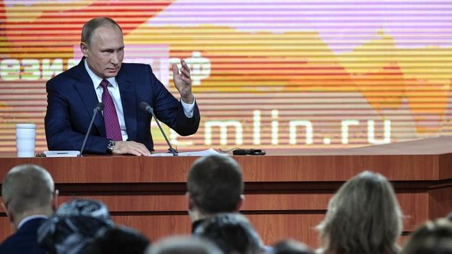 Tong thong Putin to chuc hop bao cuoi nam hinh anh