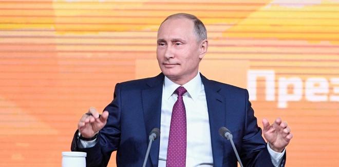Putin: Mat vu My 'dieu khien' nguoi to be boi doping cua Nga hinh anh
