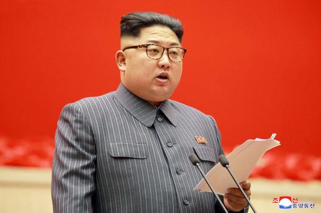 Kim Jong Un: Trieu Tien co the de doa hat nhan 'dang ke' voi My hinh anh 1