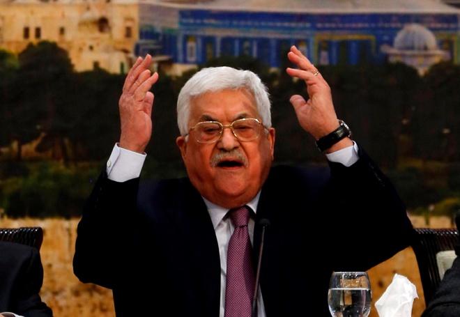 Lanh dao Palestine: Hanh dong cua Trump la 'cu tat the ky' hinh anh