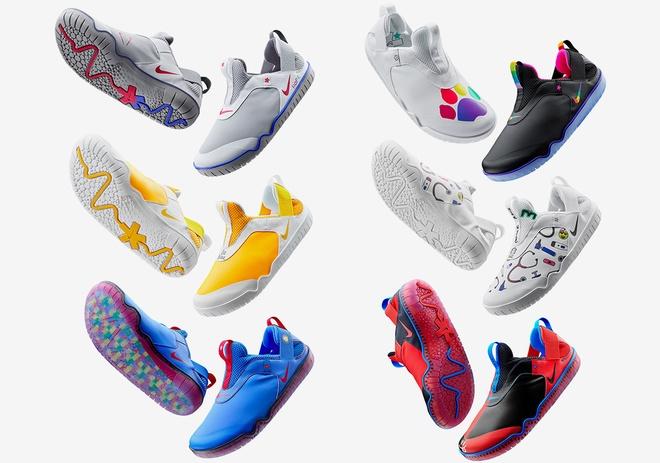 Dòng giày này có 6 kiểu dáng và màu sắc khác nhau để khách hàng lựa chọn. Ảnh: Sneaker News.