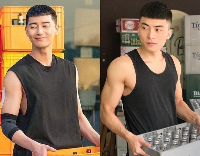 Sao Viet cat toc ngo giong Park Seo Joon trong 'Itaewon Class' hinh anh 2 1.jpg