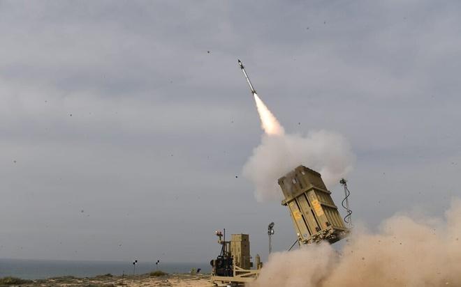 Syria ban ha ten lua Israel anh 1