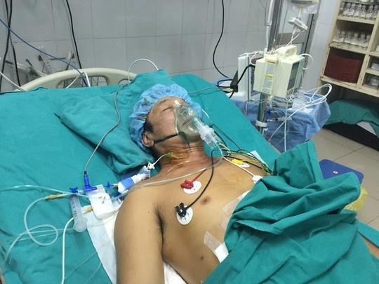 Nhung hinh anh lan dau cong bo ve ca ghep tang xuyen Viet hinh anh 12 Cho đến nay, sau gần 4 ngày được ghép tạng sức khỏe bệnh nhân ghép gan đang hồi phục tốt.
