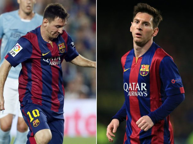 Lionel Messi giam can,  tang co bap anh 1