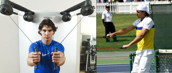 Cac bai tap tang cuong the luc cua Rafael Nadal hinh anh 2