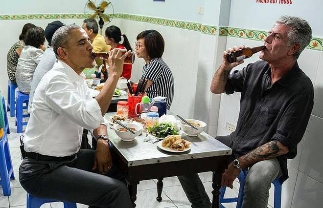 Dau bep an bun cha cung Obama: 'Toi doi doi vi den Viet Nam' hinh anh
