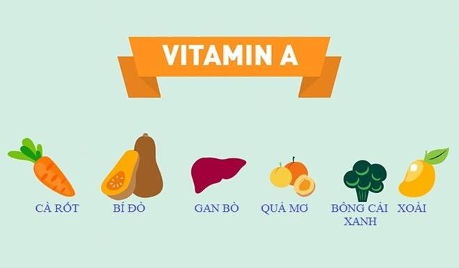 Cac vitamin lam trang da anh 1