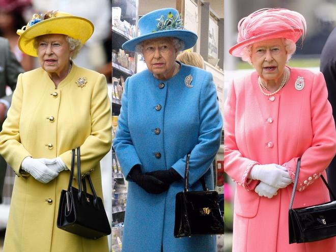 Bi mat tu nhung chiec tui xach cua Nu hoang Elizabeth II hinh anh
