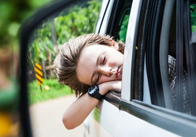 Giảm say xe tàu xe cho trẻ khi đi du lịch - Mẹ và Bé