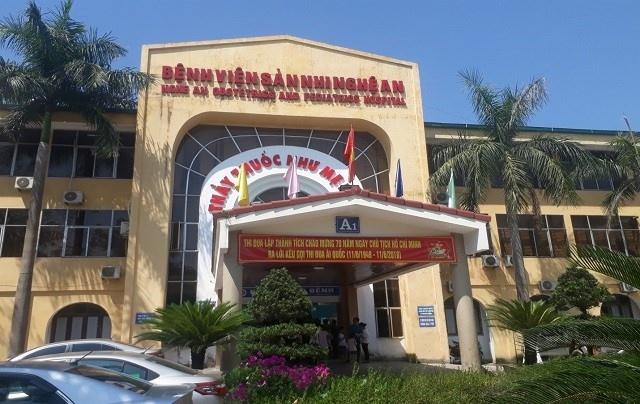 Bệnh viện Sản Nhi Nghệ An. Ảnh: VTC News.