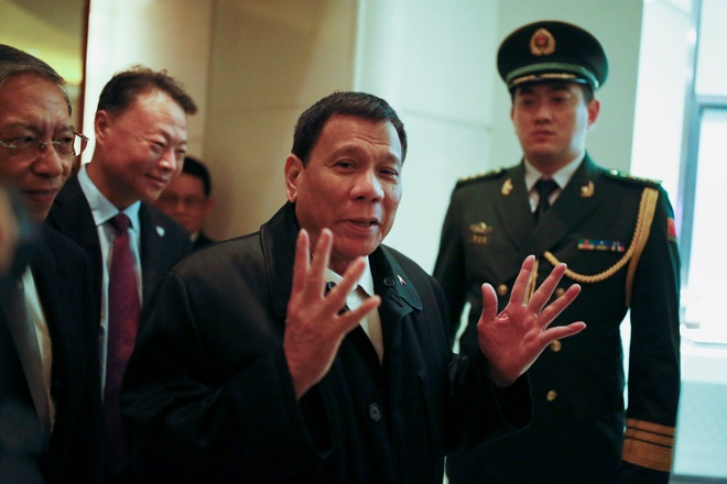 Philippines khong noi chuyen Bien Dong voi Trung Quoc anh 1