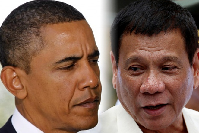 Obama bat luc truoc tuyen bo chia tay cua Duterte? hinh anh