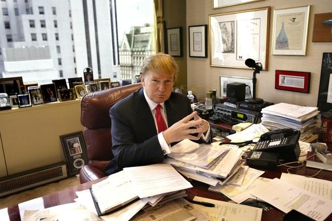 Mot ngay cua Trump: Khong an sang, ngu rat it hinh anh 2